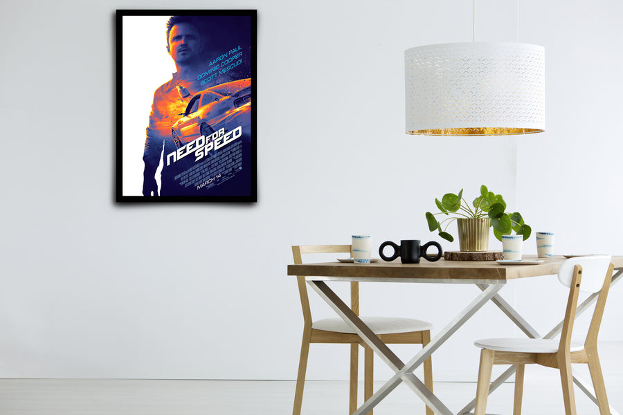 Need for Speed - Signed Poster + COA