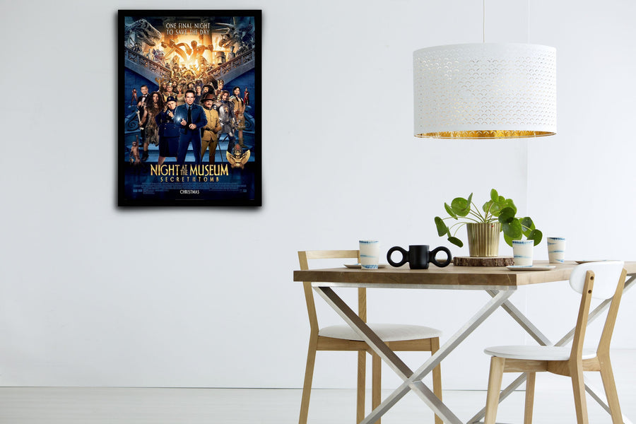Night At The Museum - Signed Poster + COA