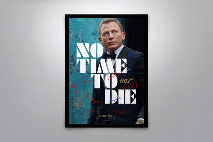 No Time To Die - Signed Poster + COA