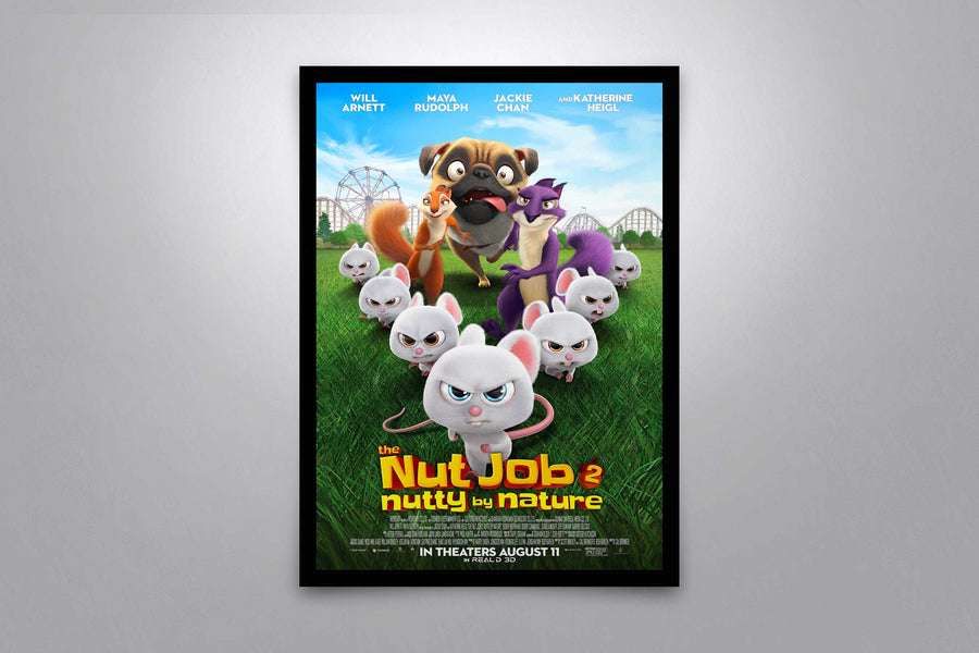 The Nut Job 2: Nutty by Nature - Signed Poster + COA