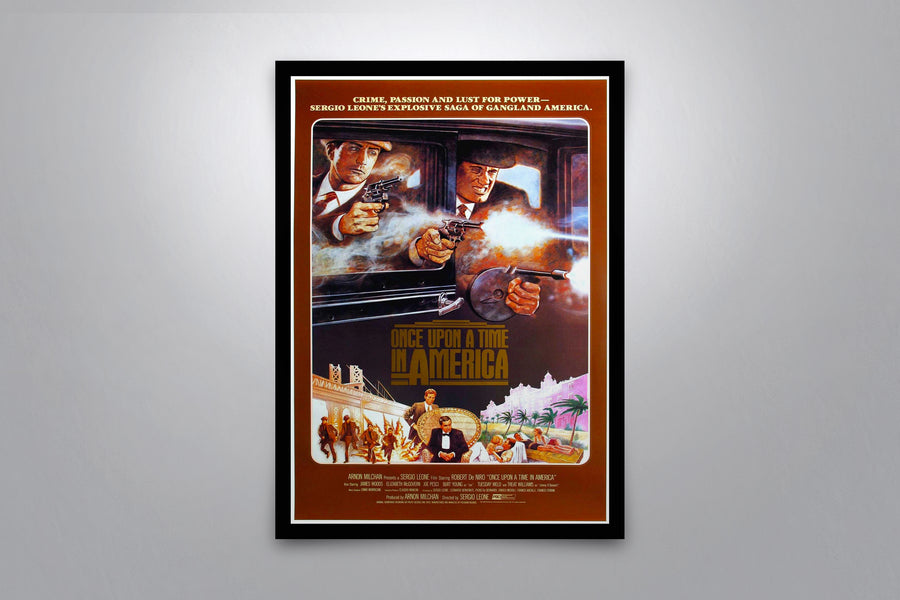 Once Upon A Time in America - Signed Poster + COA