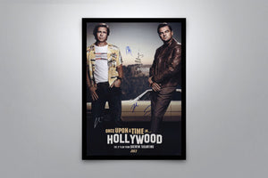 Once Upon A Time In Hollywood - Signed Poster + COA - Poster Memorabilia