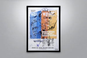 Once Upon A Time In Hollywood - Signed Poster + COA