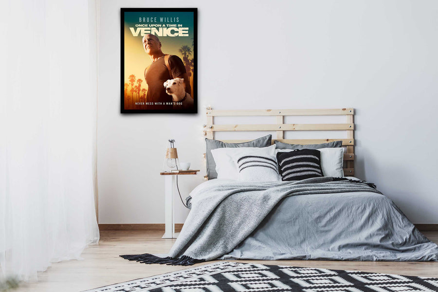 Once Upon a Time in Venice - Signed Poster + COA