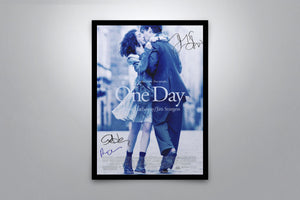 One Day - Signed Poster + COA