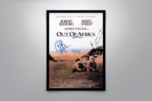 Out of Africa - Signed Poster + COA