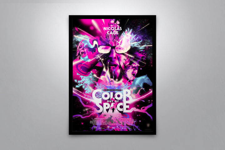 Color Out of Space - Signed Poster + COA