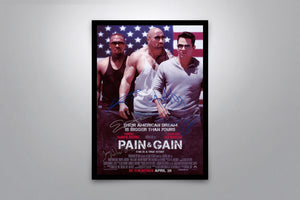 Pain & Gain - Signed Poster + COA