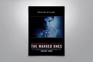 Paranormal Activity: The Marked Ones - Signed Poster + COA