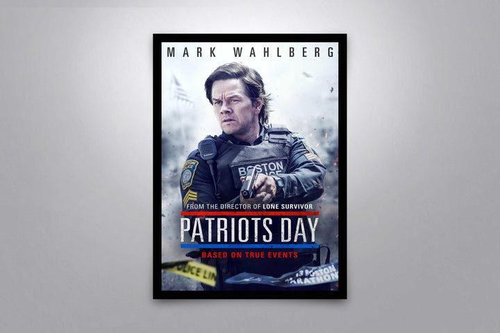 Patriots Day - Signed Poster + COA