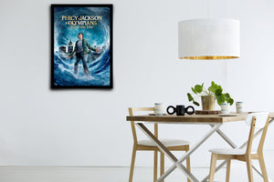 Percy Jackson & The Olympians: The Lightning Thief - Signed Poster + COA