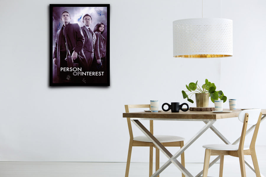 Person of Interest - Signed Poster + COA