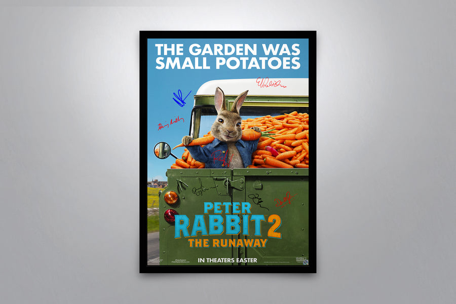 Peter Rabbit 2: The Runaway - Signed Poster + COA