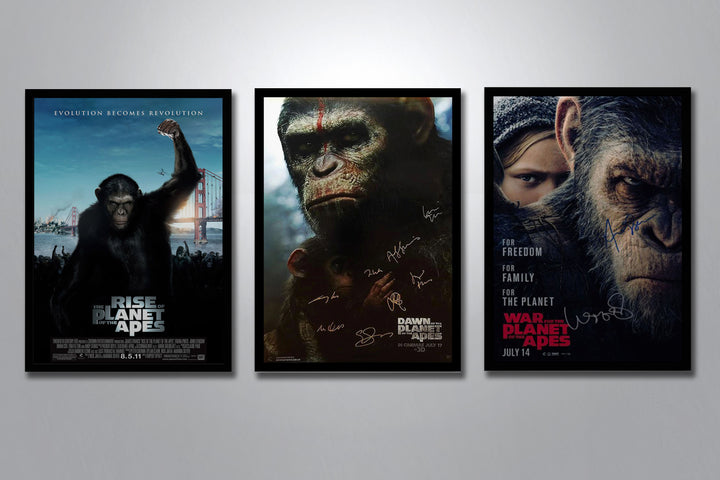 Planet of the Apes Autographed Poster Collection
