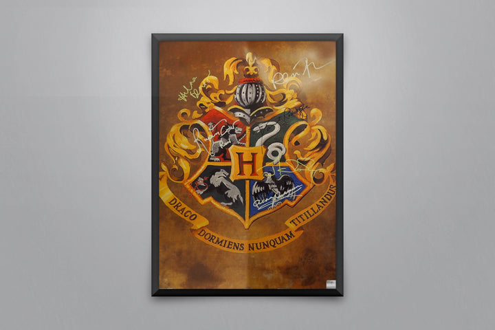 Harry Potter Hogwarts School Pride - Signed Poster + COA