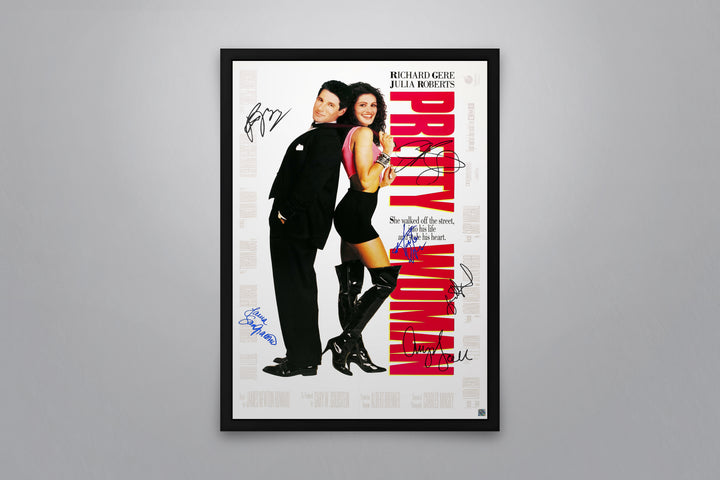 PRETTY WOMAN - Signed Poster + COA