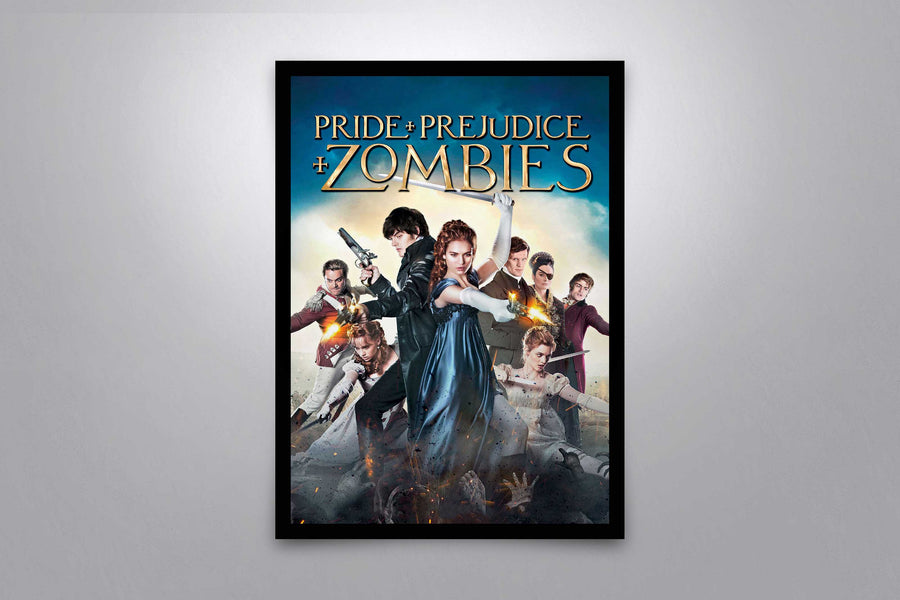 Pride and Prejudice and Zombies - Signed Poster + COA