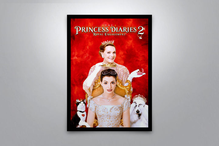 The Princess Diaries 2: Royal Engagement - Signed Poster + COA
