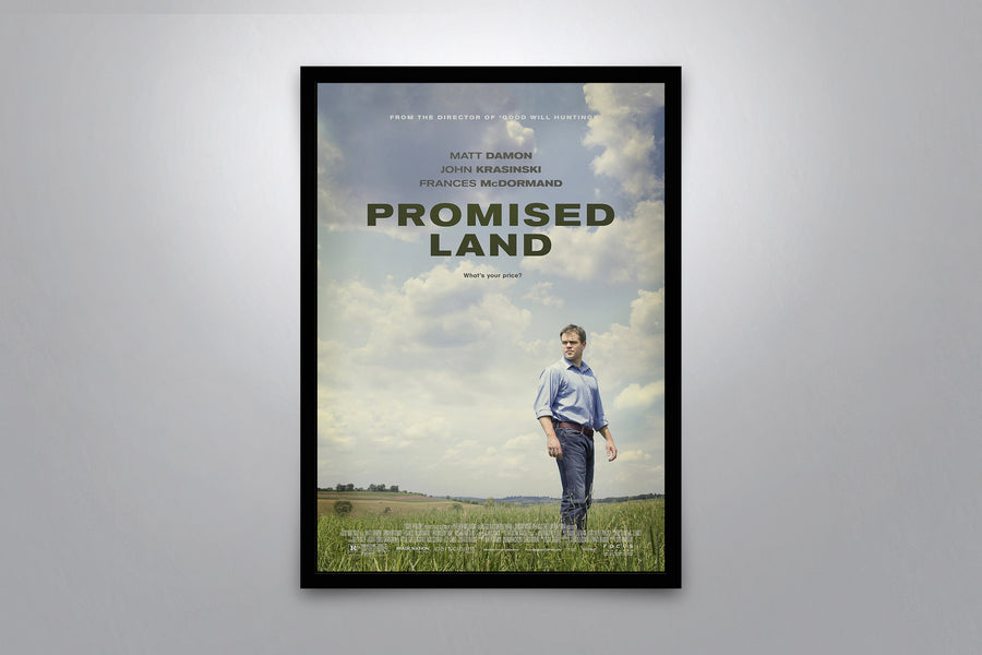 Promise Land - Signed Poster + COA