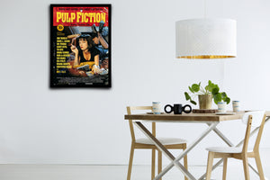 PULP FICTION - Signed Poster + COA