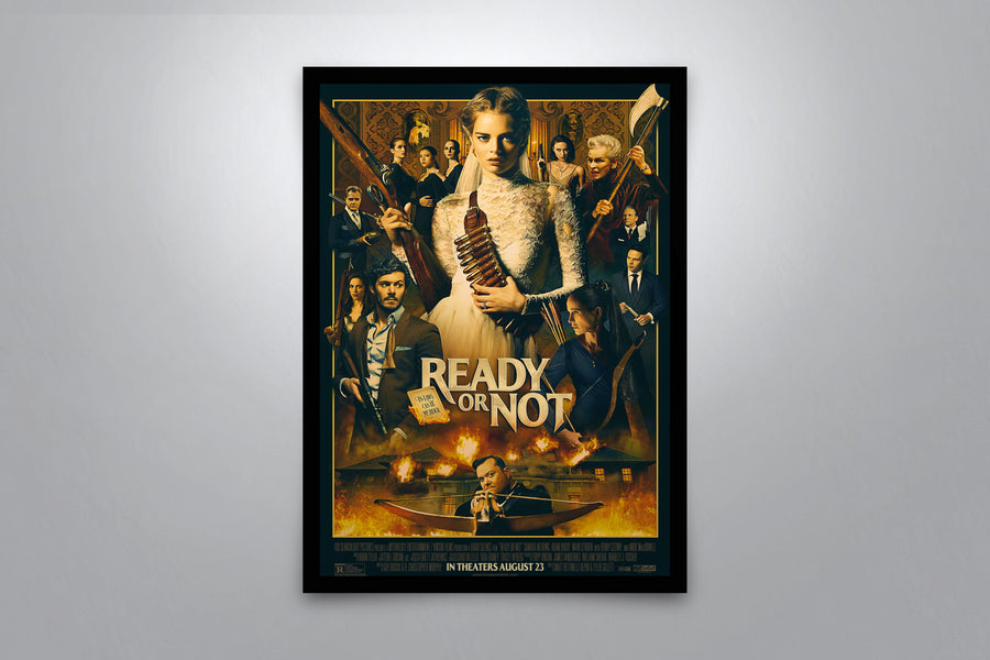 Ready or Not - Signed Poster + COA