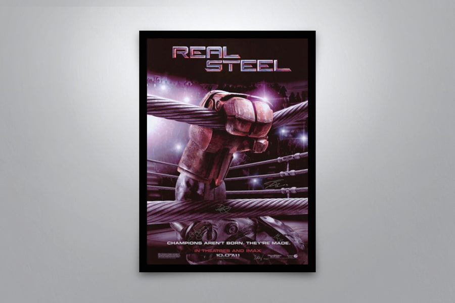Real Steel - Signed Poster + COA