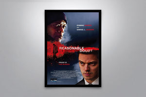 Reasonable Doubt - Signed Poster + COA