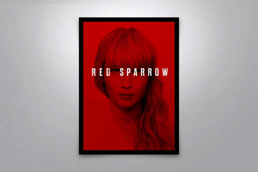Red Sparrow - Signed Poster + COA