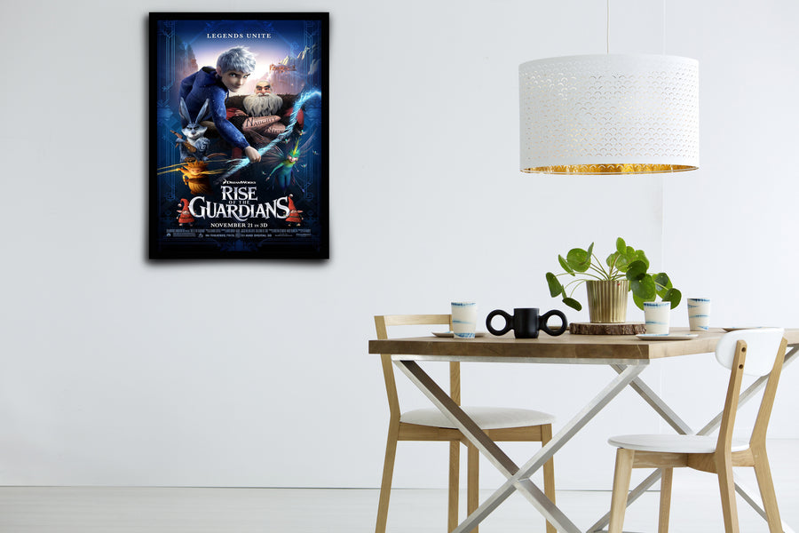 Rise of the Guardians - Signed Poster + COA