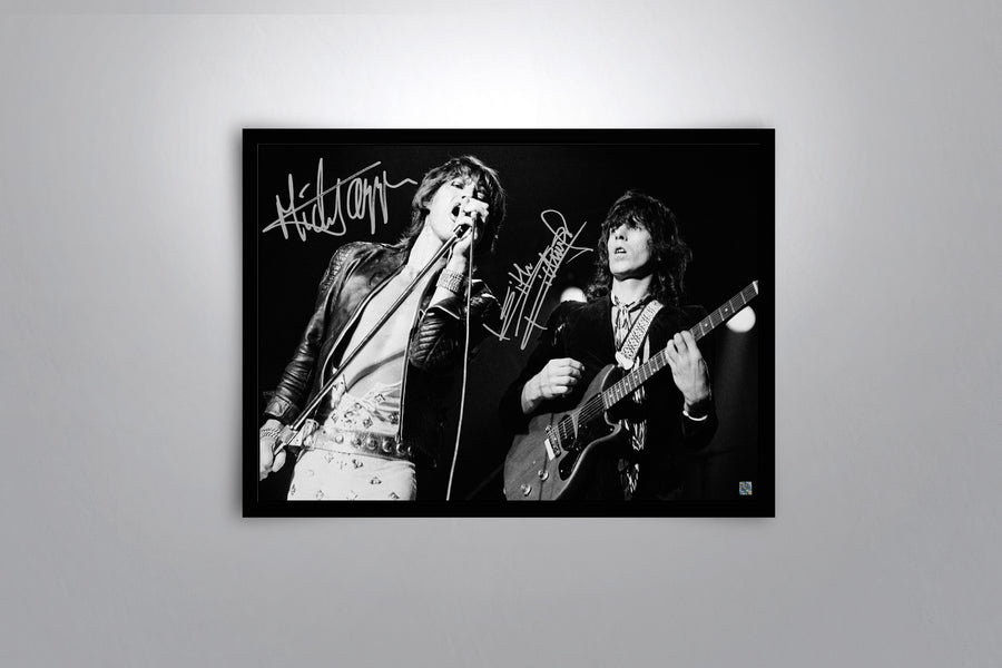 The Rolling Stones - Signed Poster + COA