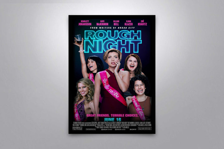 Rough Night - Signed Poster + COA