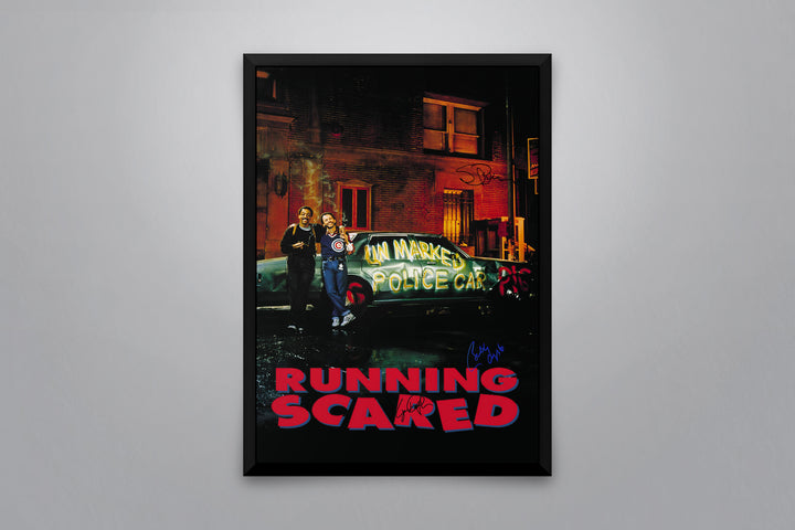 Running Scared - Signed Poster + COA