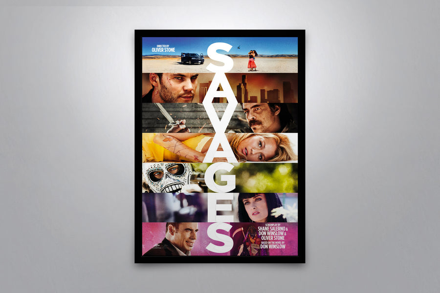 Savages - Signed Poster + COA