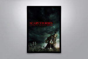 Scary Stories To Tell In The Dark - Signed Poster + COA