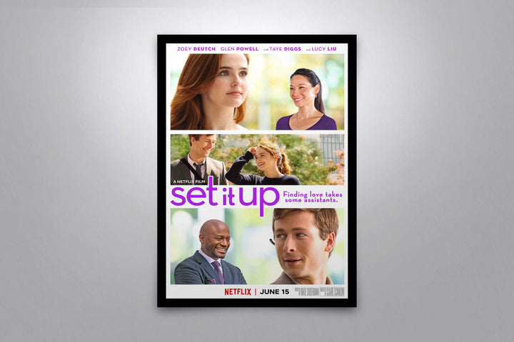 Set It Up - Signed Poster + COA