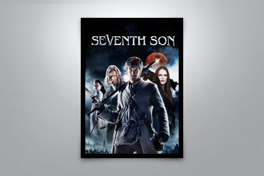 Seventh Son - Signed Poster + COA