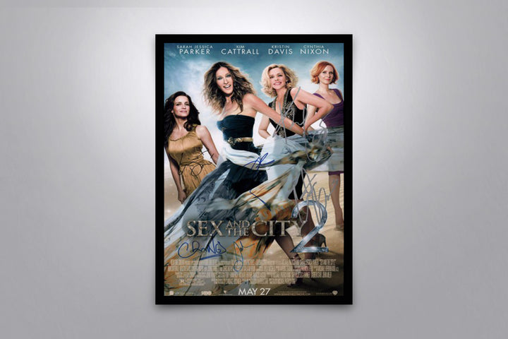 Sex and the City 2 - Signed Poster + COA