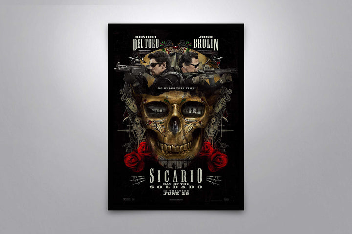 Sicario: Day of the Soldado - Signed Poster + COA