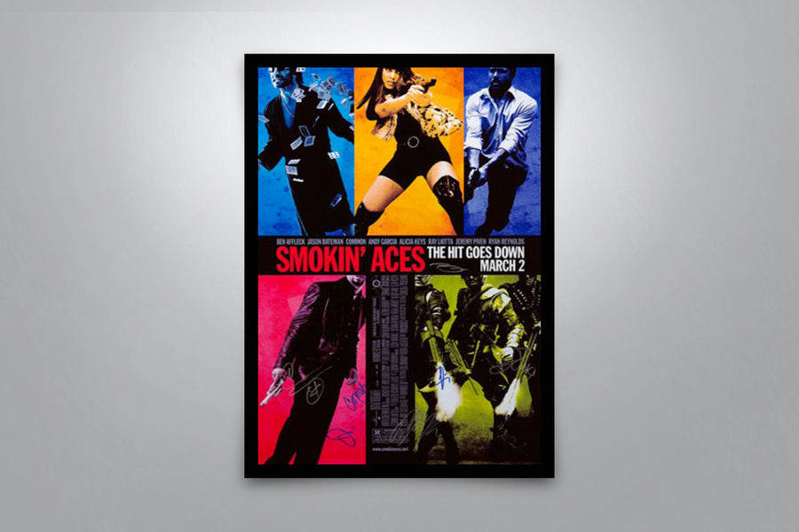 Smokin' Aces - Signed Poster + COA