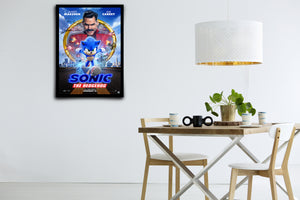 Sonic the Hedgehog - Signed Poster + COA