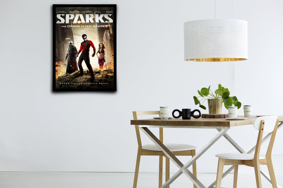 Sparks - Signed Poster + COA