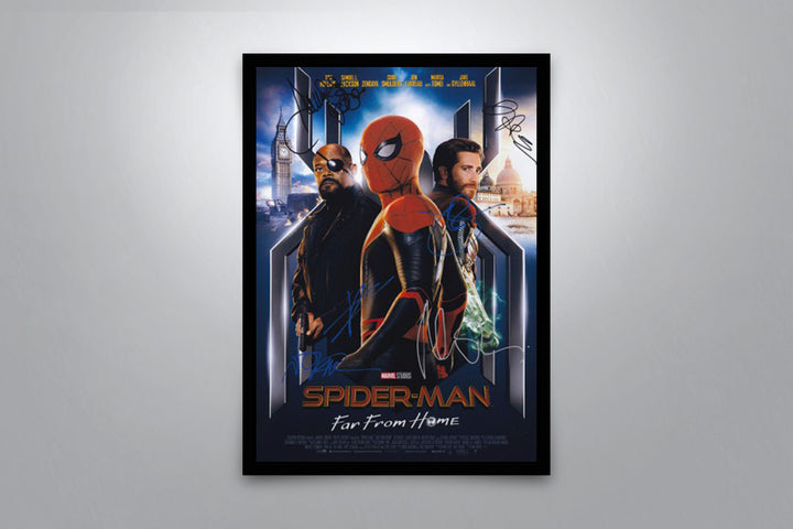 Spider-Man: Far From Home - Signed Poster + COA
