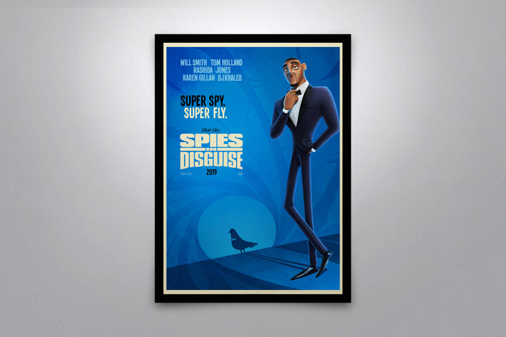 Spies in Disguise - Signed Poster + COA