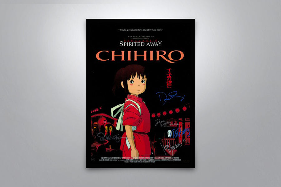 Spirited Away - Signed Poster + COA