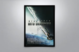 Star Trek Into Darkness - Signed Poster + COA
