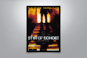 Stir of Echoes - Signed Poster + COA