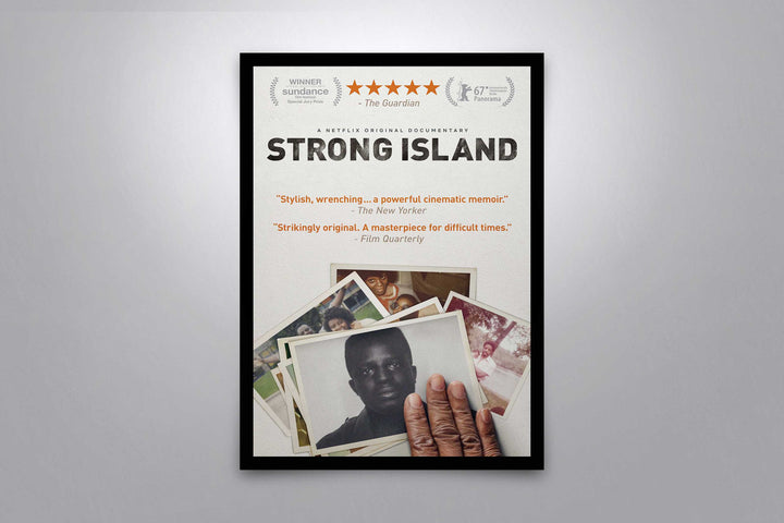 Strong Island - Signed Poster + COA