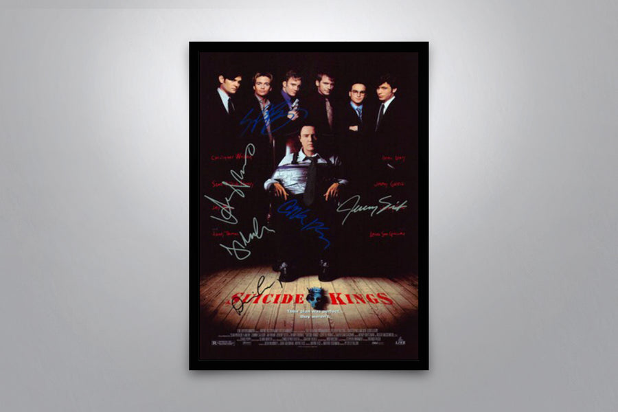 Suicide Kings - Signed Poster + COA