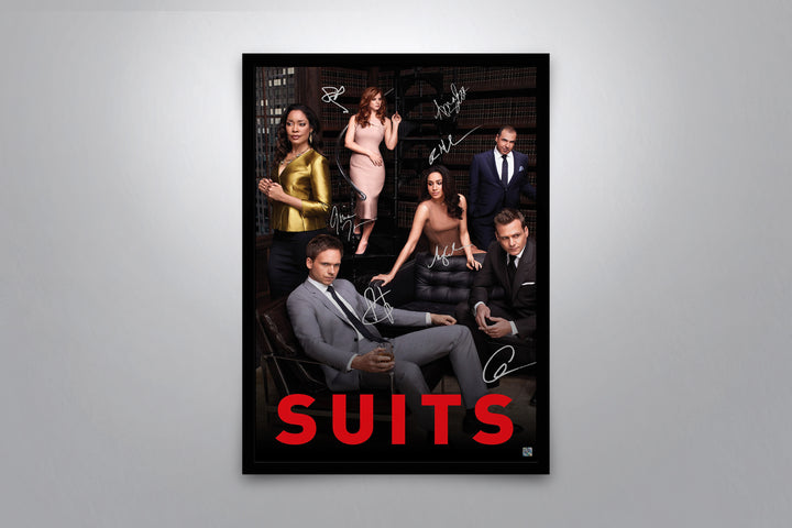 Suits - Signed Poster + COA