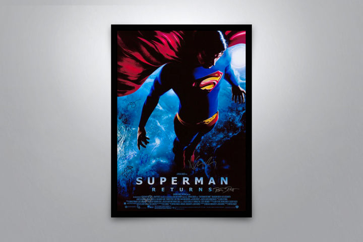 Superman Returns - Signed Poster + COA
